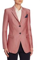 Armani Collezioni Geometric Button Front Jacket