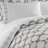 Jonathan Adler Grey Hollywood Duvet Cover