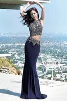 Alyce Paris - 6383 Prom Dress in Navy