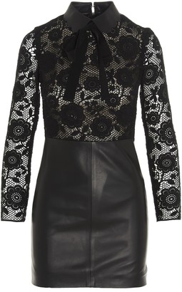 RED Valentino Lace Panel Dress