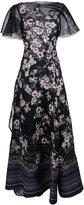 Talbot Runhof nombrils dress