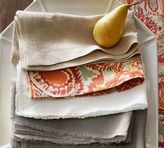 Pottery Barn Savannah Fringed Napkin, Set of 4