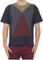 Valentino T-shirt With Geometric Motif