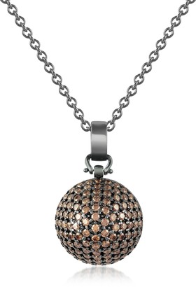 Azhar Semi-Sphere Pendant Necklace