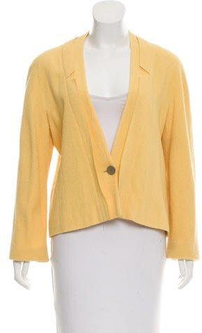 Chanel Wool Structured Blazer