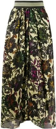 Schumacher Dorothee floral print high waisted skirt