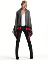 KORS Michael Kors Cashmere Cozy with Striped Tipping