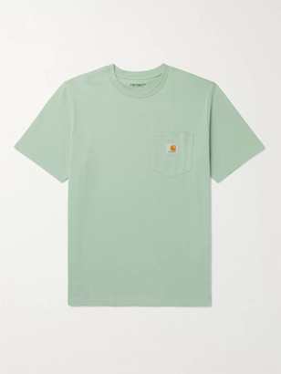 Carhartt Work In Progress Logo-Appliqued Cotton-Jersey T-Shirt