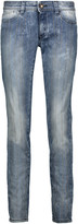 Just Cavalli Low-rise studded skinny jeans