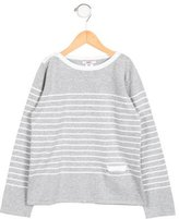 Jacadi Girls' Striped Bow-Adorned Top