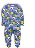 Kids Clothing- Mini Club Brand 15 Mini Club Baby Girls All in One Purple Flower