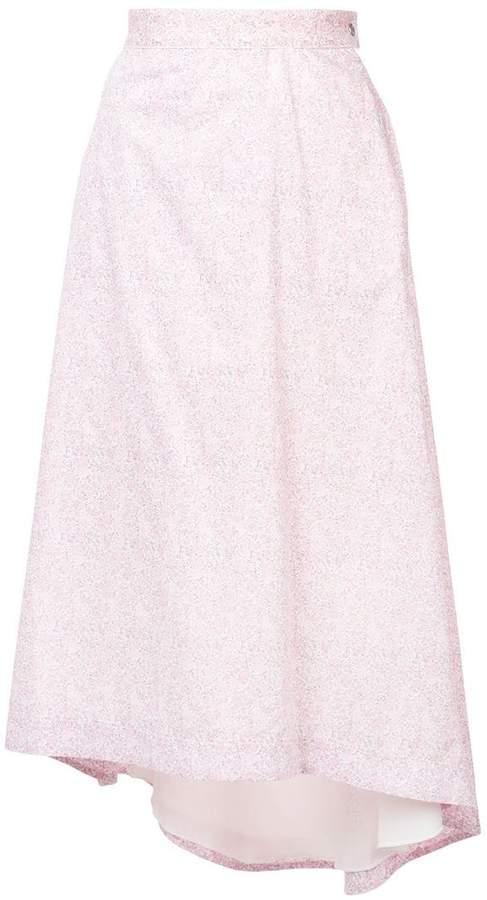 Loewe floral-print skirt
