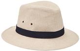 John Lewis Linen Ambassador Hat, Beige