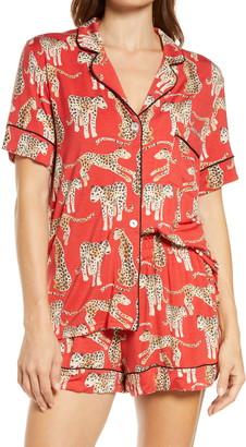 KILO BRAVA Cheetah Short Pajamas