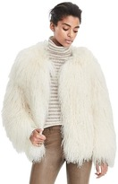 Banana Republic Limited Edition Mongolian Fur Coat