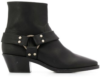 Golden Goose Buckled Ankle Boots