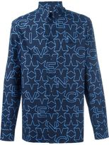Givenchy geometric star print shirt - men - Cotton - 38
