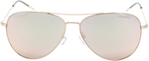 Carrera Rose Mirror Aviator Sunglasses