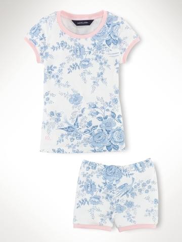 Toile Pajama Set