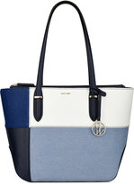 Nine West Reana Denim Color Block Tote