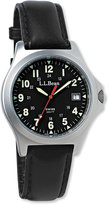 L.L. Bean Men's Classic Field Watch, Stainless Steel