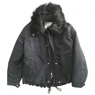 McQ Black Coat for Women