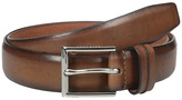 Cole Haan 32mm Burnished Leather Harness Buckle Belt