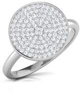 PEACOCK JEWELS Certified 18K Gold (HallMarked), 0.4 cttw Round-Cut Diamond (IJ | SI ) Diamond Engagement Wedding Ring Size - 4.5