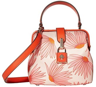 Kate Spade Remedy Grand Daisy Small Top-Handle (Pink Multi) Handbags
