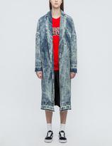 MSGM Washed Denim Jacket