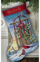 Dimensions Counted Cross Stitch Kit - Christmas Sled Stocking