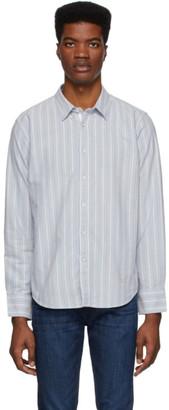 Rag & Bone Blue Oxford Fit 2 Tomlin Shirt