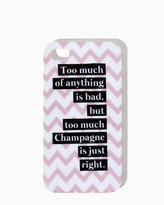 Charming charlie Just Right Champagne iPhone 4/4S, 5/5S Case
