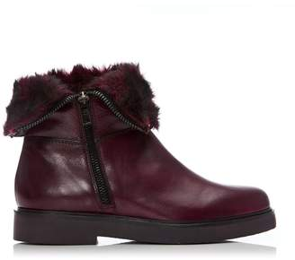 Moda In Pelle Adelinah Burgundy Leather