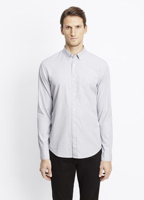 Vince Lightly Textured Button Up