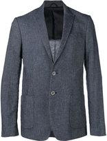 Dondup peaked lapel blazer