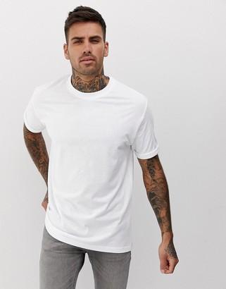 Bershka Join Life Organic Cotton loose fit t-shirt in white