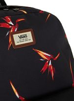 Topman Vans Black Fire Bird Old Skool Backpack