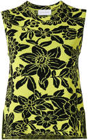 Christian Wijnants sleeveless floral top