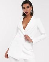Asos Edition EDITION slim double breasted wedding blazer