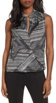 Kenneth Cole New York Women's Faux Wrap Stripe Tank Top