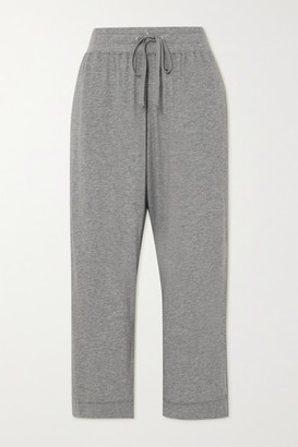 James Perse Lotus Cotton-jersey Track Pants - Gray