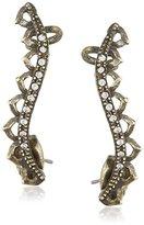 Ettika Lady Lithic Bronze Earrings