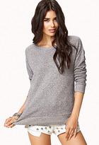 Forever 21 Raglan Sleeve Sweatshirt