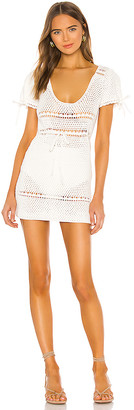 Majorelle Calca Crochet Dress