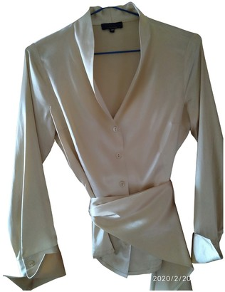 Adolfo Dominguez Camel Silk Jacket for Women