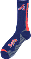 For Bare Feet Atlanta Braves Team Vortex Crew Socks