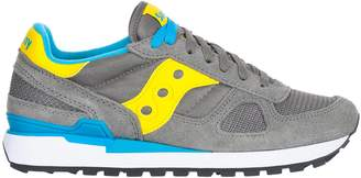 Saucony Shadow Grey/yellow/white Sneakers