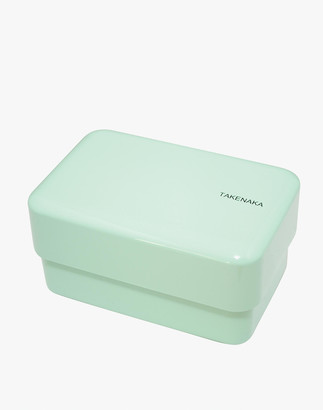 Madewell Takenaka Rectangle Bento Box and Chopsticks in Peppermint