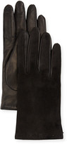 Portolano Suede & Napa Leather Gloves